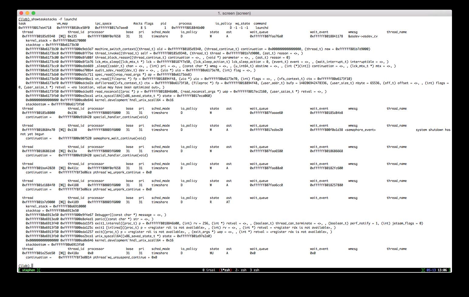 Debugging `launchd` on OSX 10 10 3 · blog[wuntee]